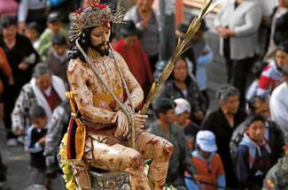 Semana Santa con sabor indígena