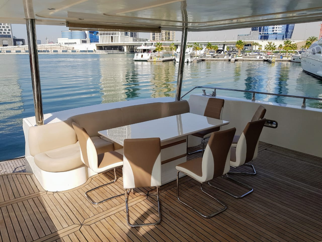 Stern Seating Area