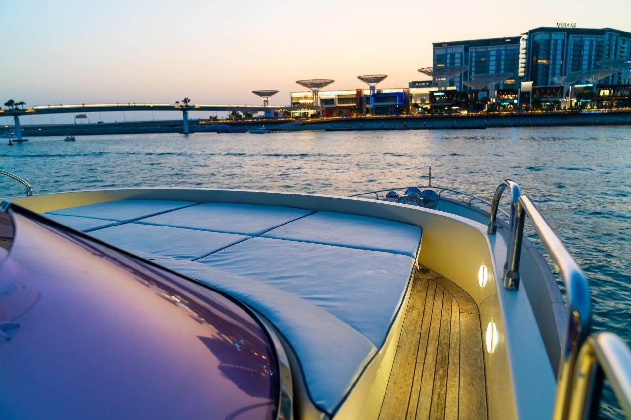 Flybridge Sunbathing Area