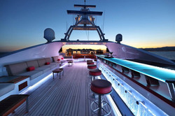 Sundeck Seating and Bar Area