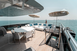 Upper Deck Stern Seating Area