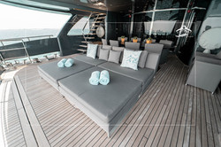 Lower Deck Stern Seating Area