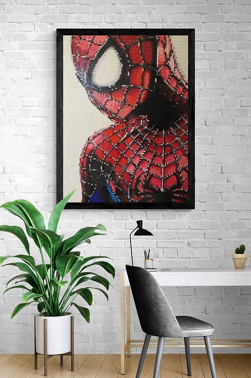 "Spiderman  (36""W x 48""H)"