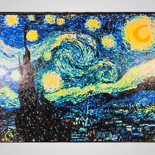 "Starry Night         (60""W x 48""H)"