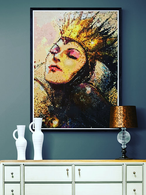 """The Queen  (36""""W x 48""""H)"""