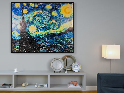 "Starry Night (60""W x 48""H)"