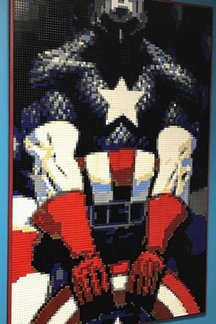"Captain America (30""W x 45""H)"