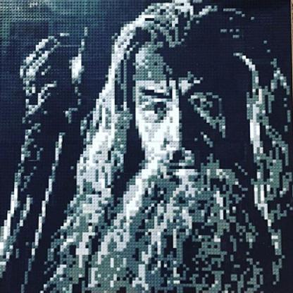 """Gandalf  (30""""W x 30""""H)"""