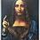"Thumbnail: Salvator Mundi (53""W x 72""H)"