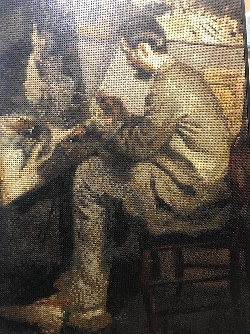 """Portrait of Frédéric Bazille (48""""W x 72""""H)"""