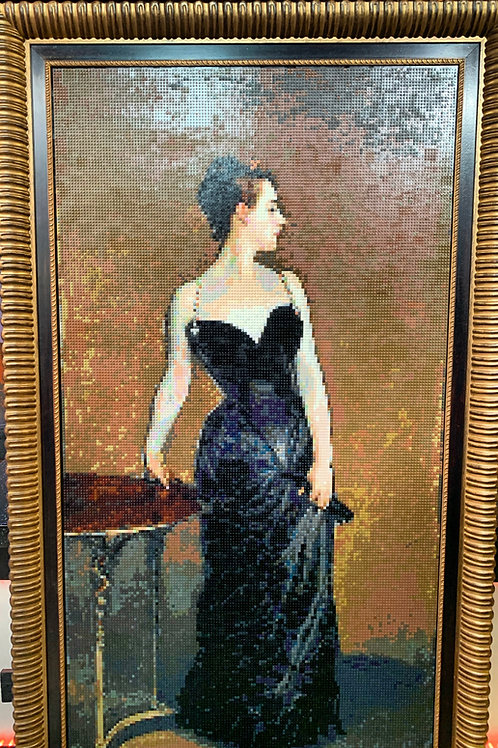 """Portrait of Madame X (102"""" tall with frame)"""
