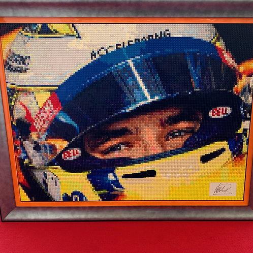 """Lando Norris, signed - McLaren F1 (48""""W x 36""""H)"""