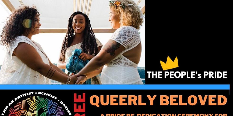 The People's Oakland Pride Queerly Beloved Dedication Ceremonies