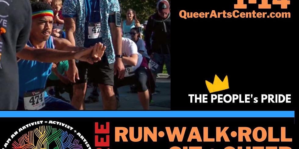 People's Oakland Pride Run, Walk, Sit + Roll