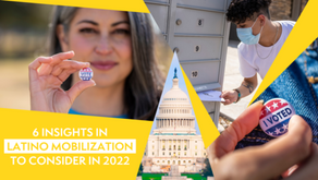Six Insights in Latino Mobilization to Consider in 2022