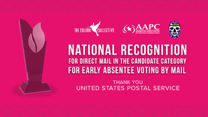 LUCHA & The Colibri Collective's 2020 Mailer Wins National Recognition from USPS