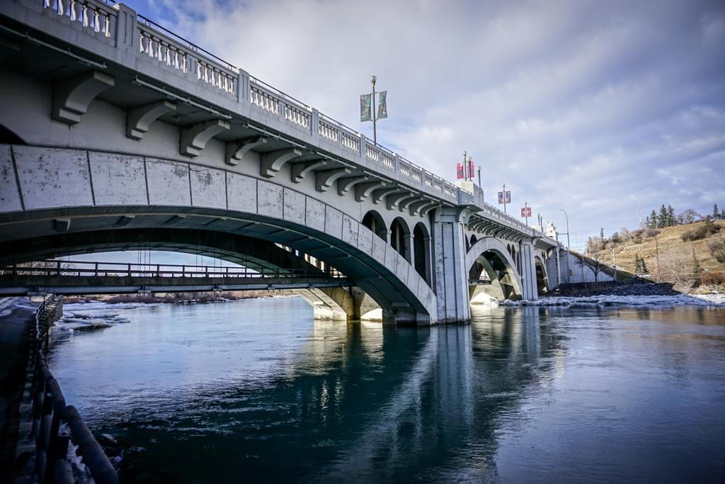 Calgary Downtown Bridge