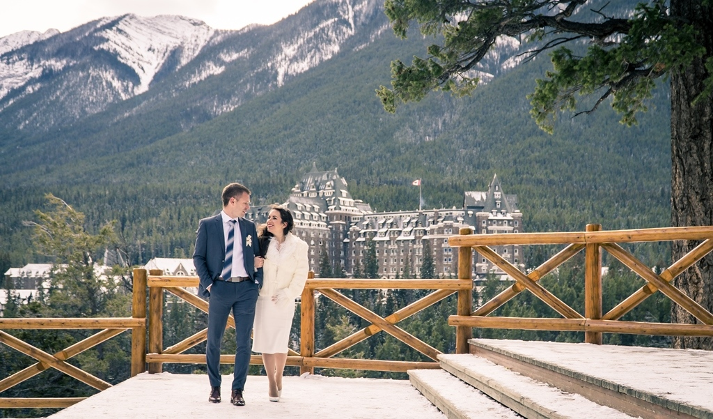 Wedding in Banff