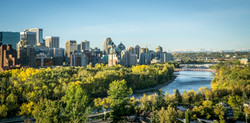 Calgary Downtown at Morning