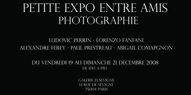 PETITE EXPO ENTRE AMIS 1 - Du 19 au 21 Décembre 2008