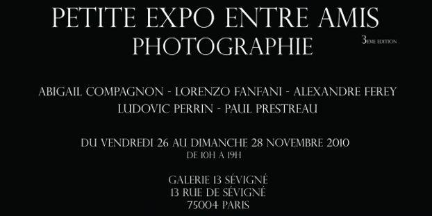 PETITE EXPO ENTRE AMIS 3 - Du 26 au 28 Novembre 2020