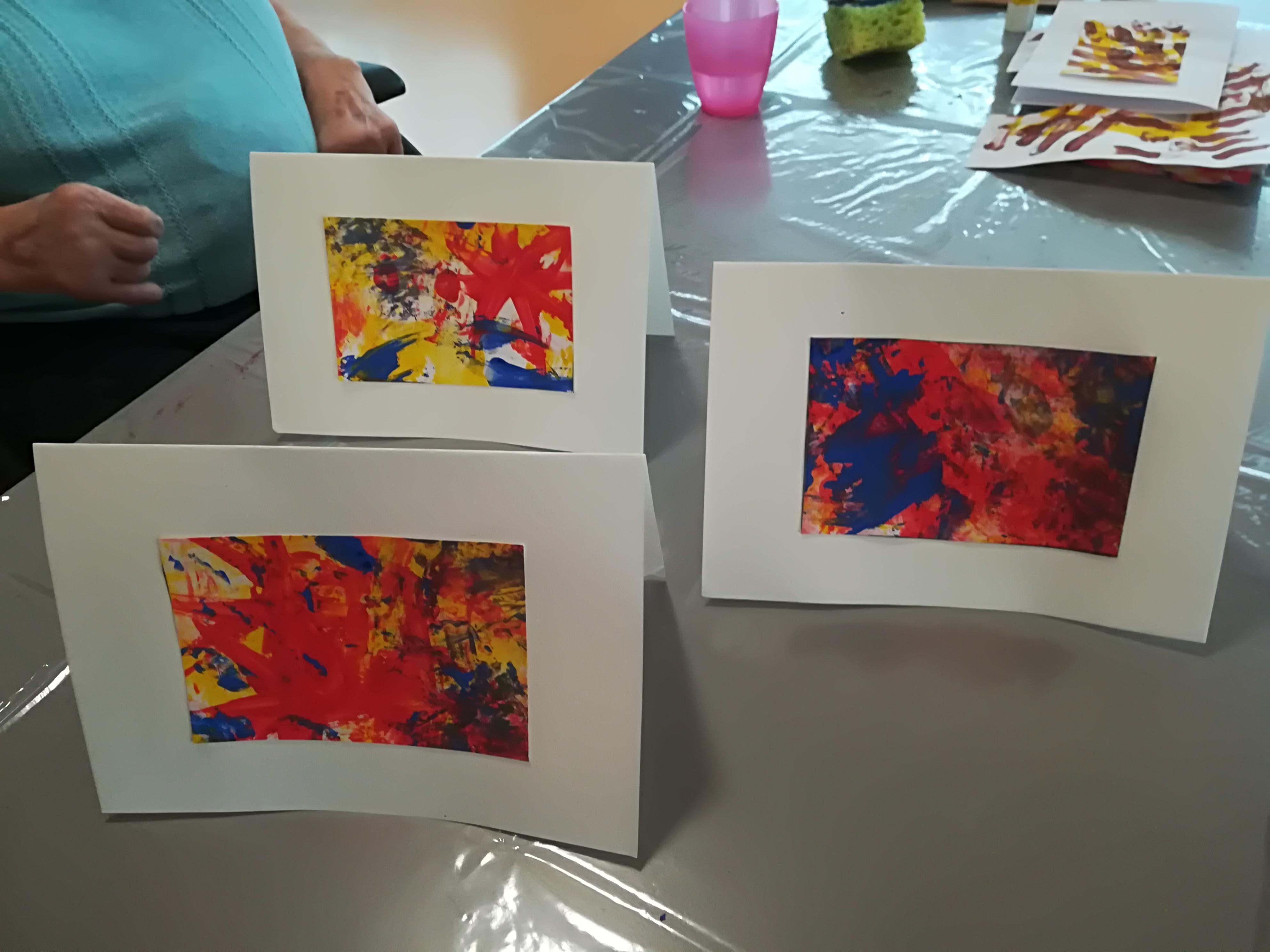 Karten Senioren gestaltet