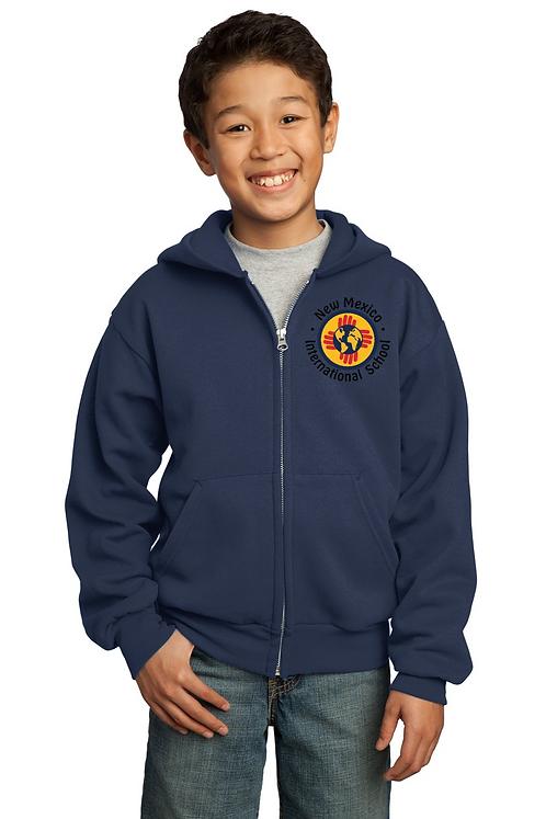 K-5th Youth Zip-Up Hoodie