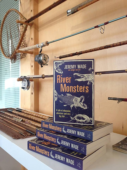 River Monsters Book by Jeremy Wade