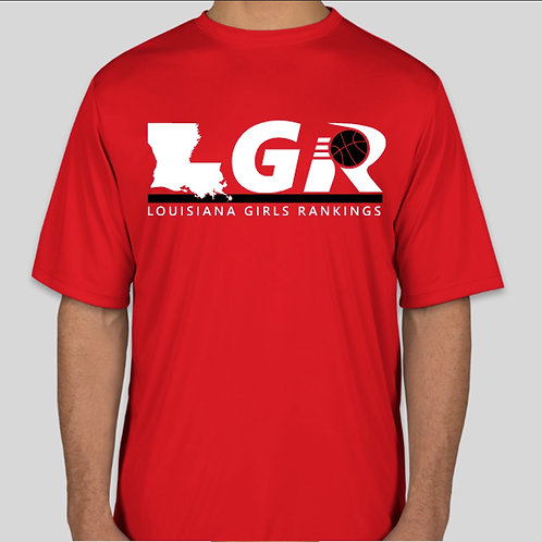 LGR - Dry fit T-Shirt (Red)