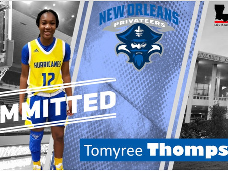 St. Mary's Academy Tomyree Thompson Commits - UNO