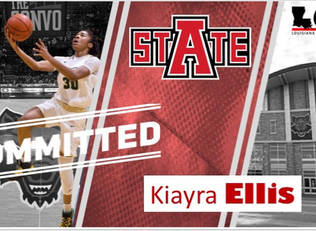 Captain Shreve's Kiayra Ellis Commits - Arkansas State