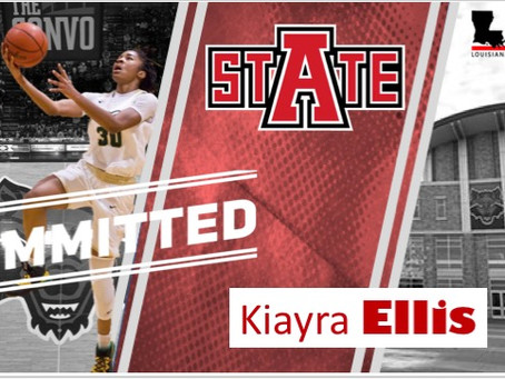 Captain Shreve's Kiayra Ellis Commits - Arkansas State