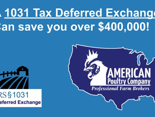 1031 Tax Exchange, Keep your hard earned Money!