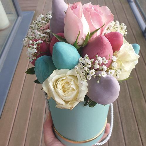 Tiffany Blue Edible Bouquet