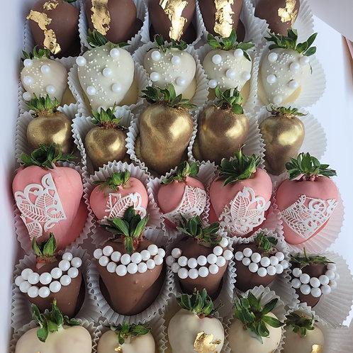 Belgian chocolate covered strawberries Dublin