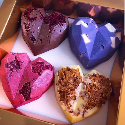 4 Hearts | Colours will vary