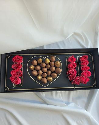 Edible bouquet arrangement