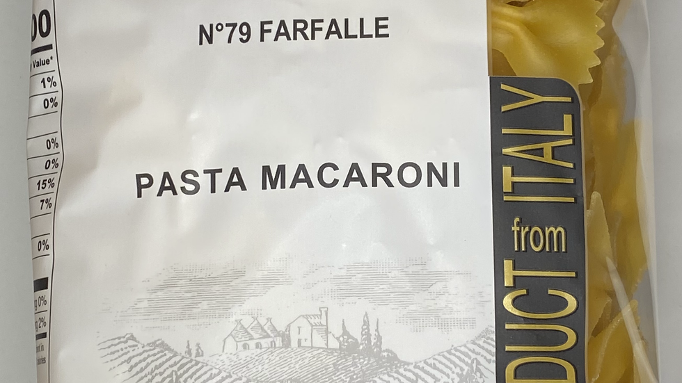 Farfalle Pasta Granoro 1Lb