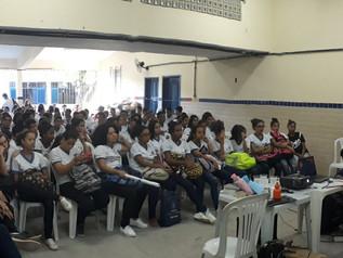 Educavida realiza palestra para mais de 120 jovens.