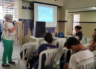 Palestra Projeto de Vida na Escola Estadual de Referência Benedito C. Melo