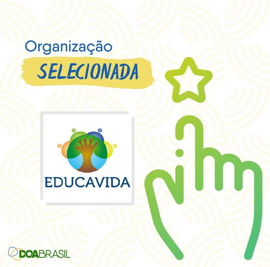 DIA DE DOAR - EDUCAVIDA NESTA CELEBRAÇÃO!