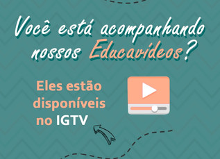 Educavida lança Educavídeos