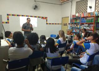 Palestra na Escola Maria Sampaio