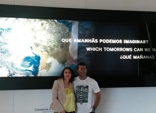 VOLUNTÁRIOS DA EDUCAVIDA VISITAM MUSEU DO AMANHÃ NO RIO