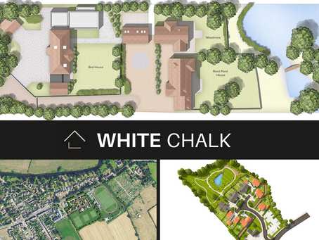 Colourful property site plans