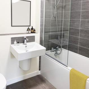 Bathroom digital dressing CGI