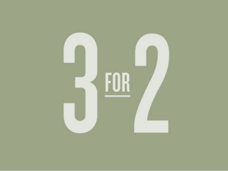 Our amazing 3 for 2 CGI offer is back!