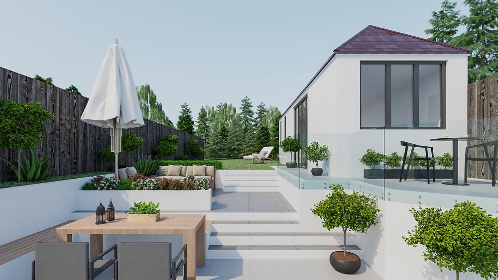 CGI garden