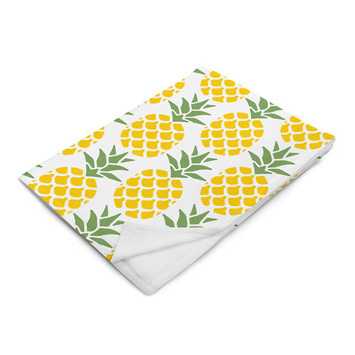 Throw Blanket Pineapple