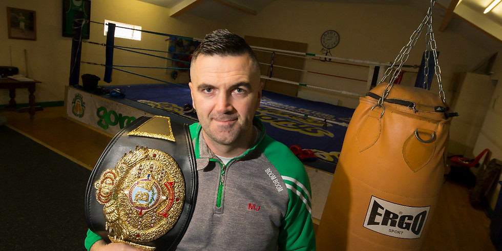 Boxing Workshop with Heavyweight Champ Niall Kennedy